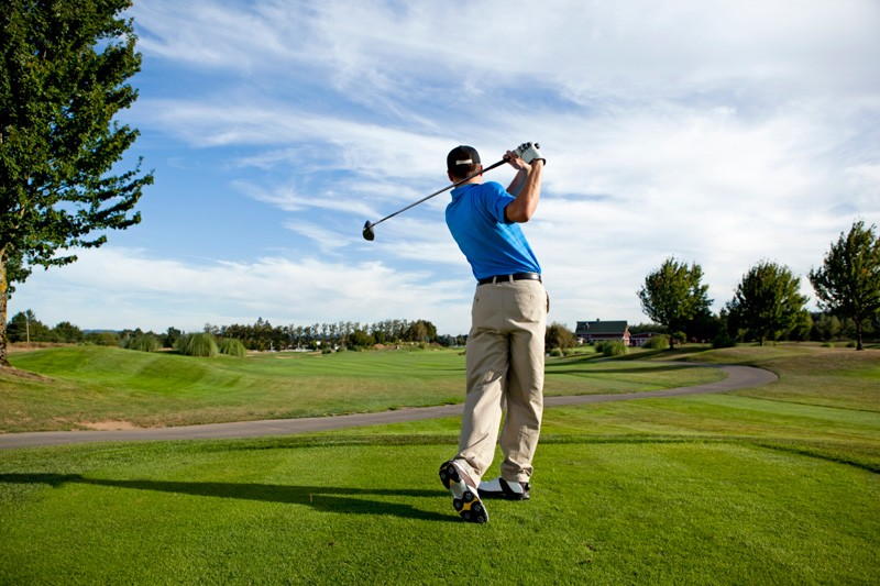 Golfer Swing - DoubleTee